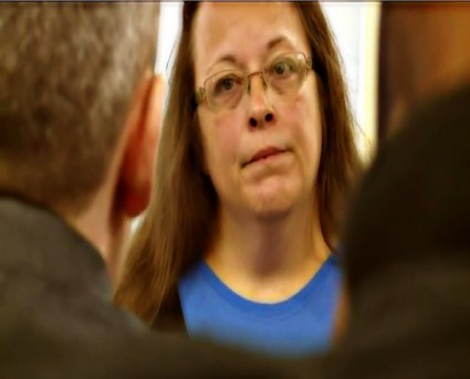BE FUNKY screenshot kentucky marriage clerk kim davis